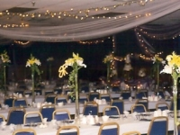 Banquet Hall Wedding Table Decoration