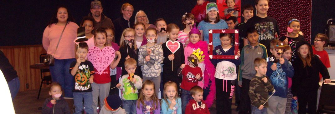 Auxillary Youth Valentine party Fun